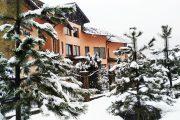 Фасад зимой